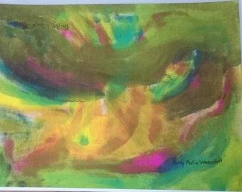 lazer print of my artwork