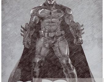 Batman Pencil Sketch