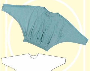 Sewing Pattern: Batwing Top