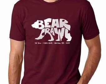 2017 BEAR CRAWL Adult T-Shirt