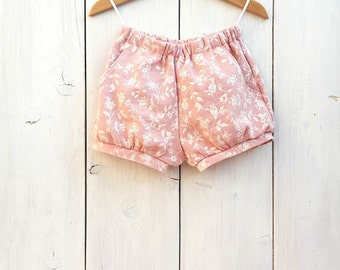 Baby Bloomers, Girls bubble shorts, Toddler girls shorts, Girls bloomers, Print blouse toddler, Baby shorts pants, Bloomers ceremony