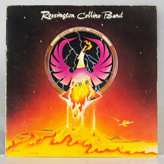 Rossington Collins Band - Anytime, Anyplace, Anywhere Album MCA Records 1980 Original Vintage Vinyl Rock Record