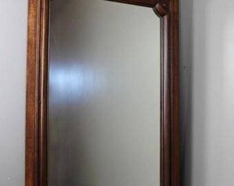 Large Mahogany Wall Mirror