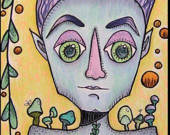 The Fungus Among Us - Original Drawing