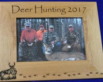 Gift For Dad ~ Gift For Husband ~ Hunting Gift ~ Engraved Hunting Frame ~ Birthday Gifts For Men ~ Deer Hunting ~ Deer Hunting Frame ~ Deer