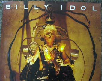BILLY IDOL Charmed Life Poster VINTAGE Large 36x24