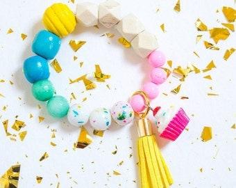 Cupcake Birthday Bracelet
