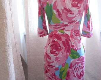 Lilly Pulitzer First Impression Rose Dress