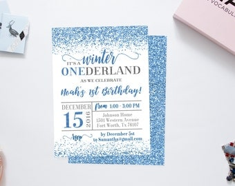 Winter onederland invitation girl winter onederland party winter onederland invitation winter onederland birthday winter onederland boy winter wonderland invitations pronofoot35fo Image collections