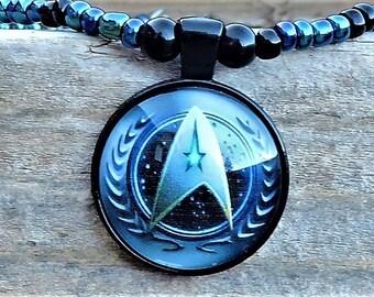 Trekkie's Shield Necklace