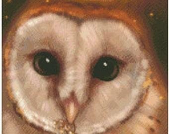 autumn owl pattern
