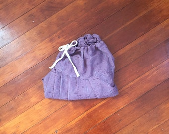 purple harem pants