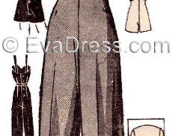 1940's Overalls or Playsuit and Jacket Pattern by EvaDress