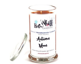 Autumn Moon - SALE - 50% off - Scented Candles, Handmade Candles, Scented Candle, Aromatherapy Candles, Autumn Candle, Cinnamon Candle, Fall