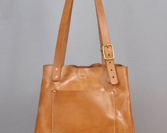 Murph Tote - Russet // Leather Tote Bag // Leather purse // Leather Handbag