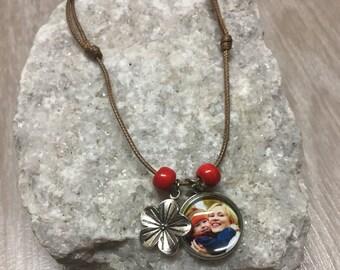 Custom Photo Necklace - Bohemian Necklace- Picture Necklace - Personalized Necklace - Photo Jewelry - Gift - Keepsake