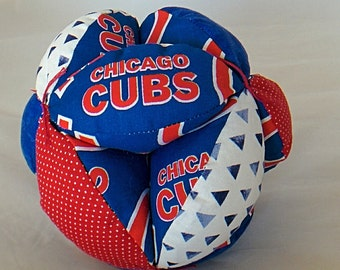 Clutch Ball with Chicago Cubs
