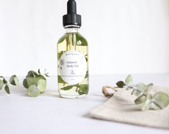 Infused Body Oil - Eucalyptus