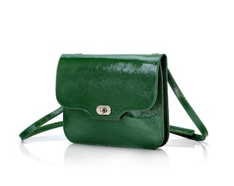 Crossbody bag | Leather crossbody bag | Women's crossbody bag | Shoulder bag | Green crossbody bag | Cross body bag | Leather tote bag