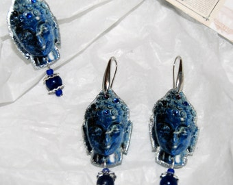 "Set ""Buddha bar"" blue"