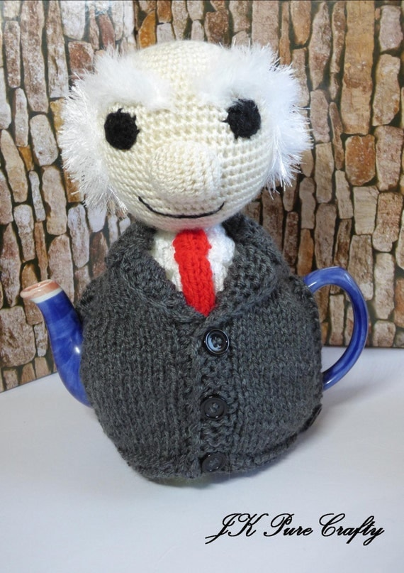 Knitting Pattern For Michael D Higgins Tea Cosy : Michael D Higgins teapot cosy/Michael Tea Higgins by ...