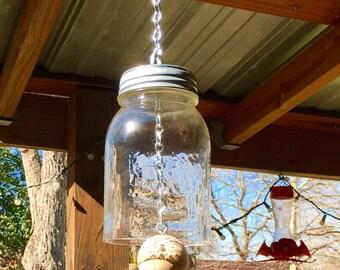 Mason Jar Bell / Christmas Gift / Farmhouse Decor / Christmas / Mason Jars / Home Decor / Mason Jar Decor / Housewarming Gift / Gift