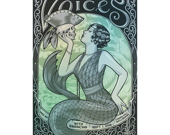 Guided by Voices Illustrated Poster