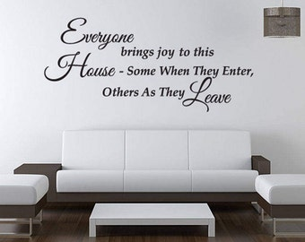 Removable Wall Decor Etsy - Wall decals hallway