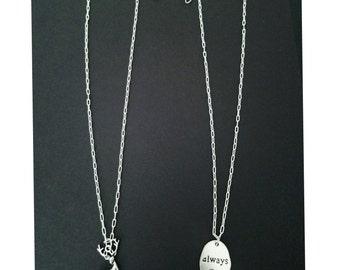 Harry Potter Best Friends necklace set