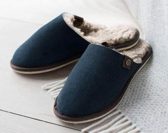 Sheepskin Mules for Women British Made Celtic and Co