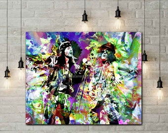 Guns N Roses Art, Guns n Roses Poster, Original Guns n Roses Art, Slash, Axl Rose, Hard Rock Bands, Rock Singers, Cool Music Prints, Rock