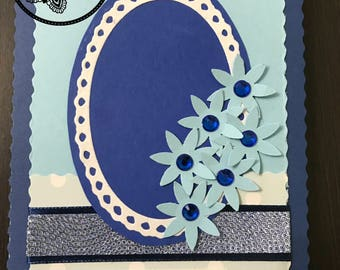 Handmade Easter Card, Kartka Wielkanocna