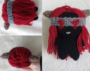 Lilith (Binding of Isaac) Crochet Pattern