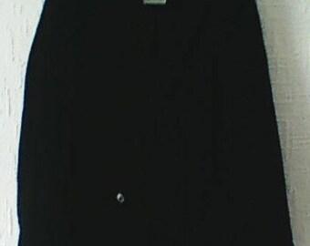 Mens Black Velour Jacket