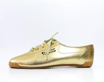 1990s LA Gear Gold Sneakers