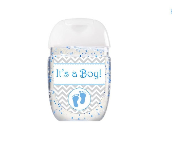 Baby Shower Stickers Next Day Delivery ~ Hand sanitizer labels bath body works baby shower