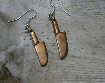 Vintage Killing Me Softly Meat Cleaved earrings