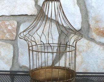 Vintage Metal Decorative Birdcage