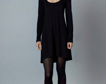 "dress ""calla"", black"