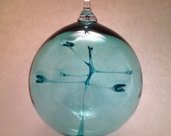 Lagoon Blown Glass Witch Ball