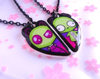 Zim & Gir- BFF Necklace Set