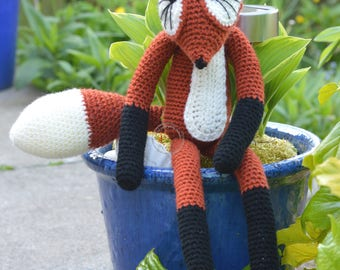 Handmade Crochet Fox