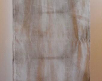 Natural Dye Organic Cotton Scarf - 35 x 150 cm - C1C009