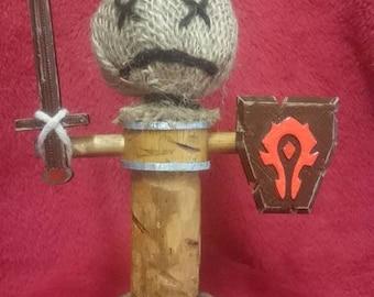 Horde World of Warcraft inspired Training Dummy