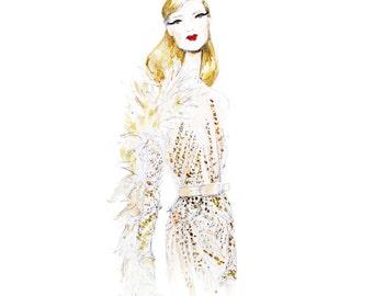 Ellie Saab Couture Print