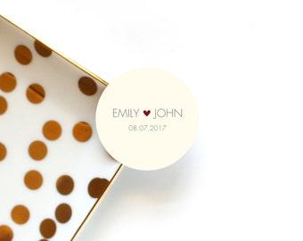 Wedding Envelope Seals Favour Stickers Invitation
