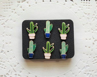 Decorative Pushpins, Thumb Tacks, Cactus Push Pin, Succulents, Decorative Push Pins, Pushpins, Thumbtacks, Novelty Pushpins, Fun Thumb Tacks