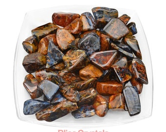 1 Grade AA+ Gem PIETERSITE Tumbled Stone Chatoyant Flat Healing Crystal and Stone Ascension Stone Metaphysical Yoga Shamanic #PT32