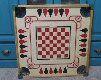 Vintage Wood Carom Board