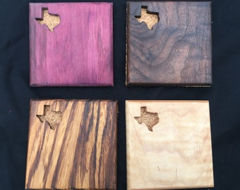 TEXAS DRINK COASTERS